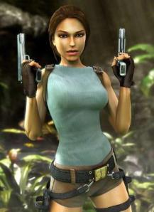 Lara Croft's titties, I mean...