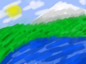 It's a landscape :D
